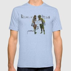 moonrise kingdom II Mens Fitted Tee Athletic Blue SMALL