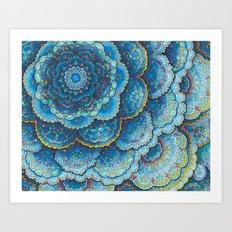 Birthday Mandala Art Print