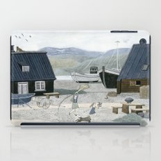 North Fishing Village iPad Case