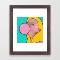 No. 6 | Kate Framed Art Print