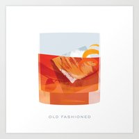 Cocktail Hour: Old Fashioned Art Print