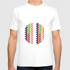 Geodesic Mens Fitted Tee SMALL White