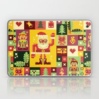 Christmas Geometric Patt… Laptop & iPad Skin