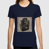 Thats my Boy  Womens Fitted Tee Navy SMALL