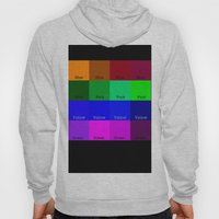 Blue, Pink, Yellow, Gree… Hoody