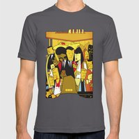 Pulp Fiction Mens Fitted Tee Asphalt SMALL