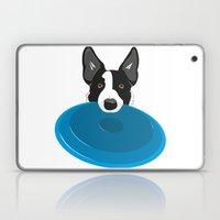 Border Collie - Disc Dog 2 Laptop & iPad Skin