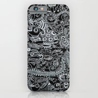 Ancient Figures II iPhone 6 Slim Case