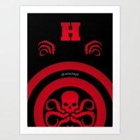 Hail Hydra #1 Art Print