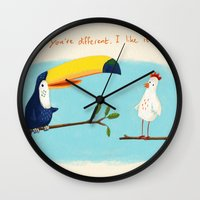 You're Different. I Like… Wall Clock