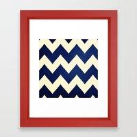 Fleet Week - Navy Chevro… Framed Art Print
