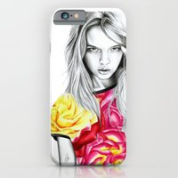 iPhone & iPod Case featuring French Summer 1 by Libby Watkins Illustration