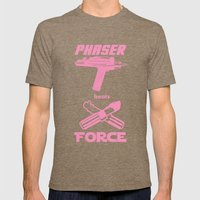 Force beats Phaser Mens Fitted Tee Tri-Coffee SMALL