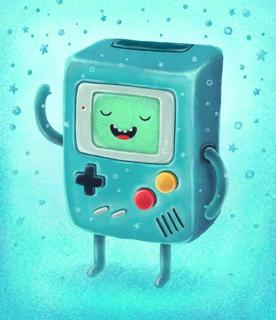 Game Beemo Art Print