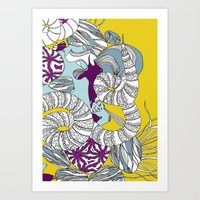 Coral Illustration Art Print