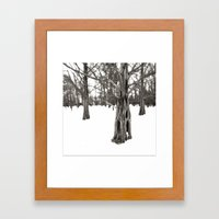 Treesome Framed Art Print