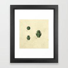 Lego Bush Framed Art Print