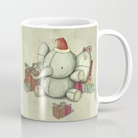 Happy Cute Elephant Mug