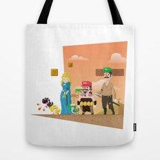 Super Mario GoT Tote Bag