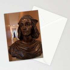 Bust in Convent of St George Gallery  Stationery Cards