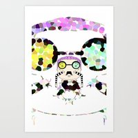 Monsieur Steams Art Print