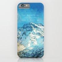 Adventure. The Mountains… iPhone 6 Slim Case