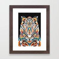 TyGR Framed Art Print