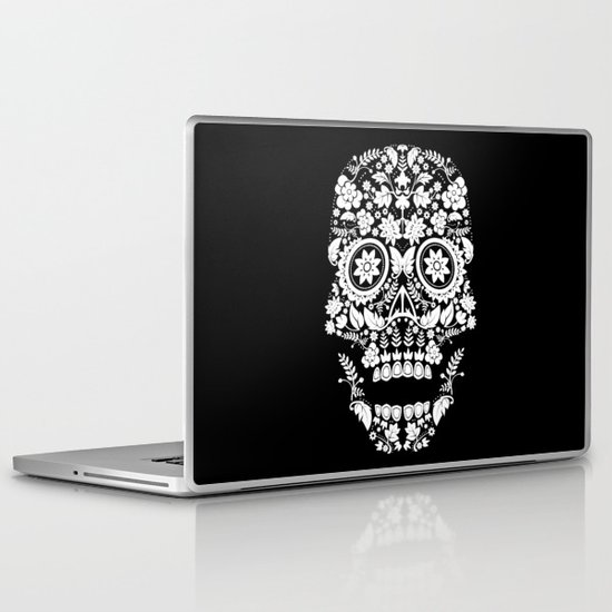 Day of the Dead Skull No.14 Laptop & iPad Skin