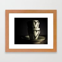 I Heart Tea Framed Art Print