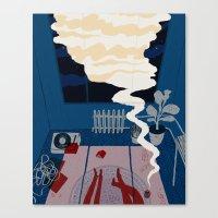 Midnight Talk Canvas Print