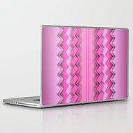 Laptop & iPad Skin featuring Zigzag Paper Dream by Britta Glodde