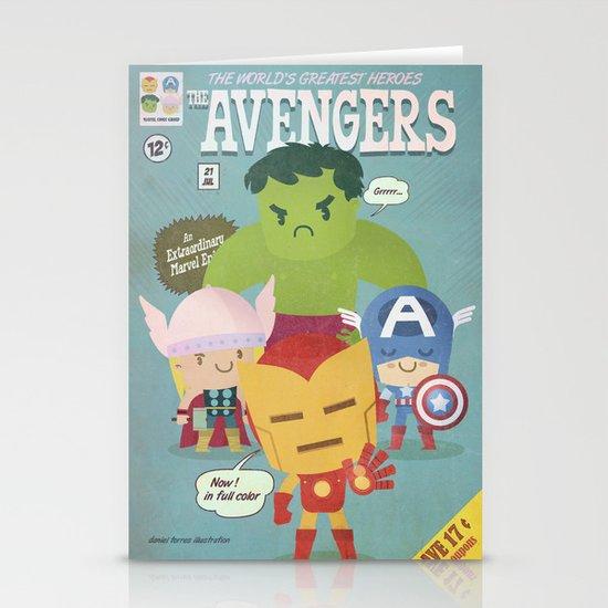 avengers fan art Stationery Card