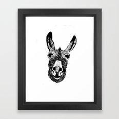 Wonky Donkey  Framed Art Print