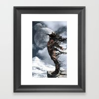 The Shedding Of Darkness… Framed Art Print