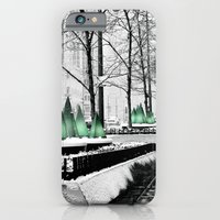 Christmas in Chicago iPhone 6 Slim Case