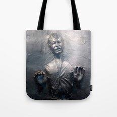 Han Solo Carbonite Tote Bag