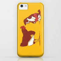 iPhone 5c Cases featuring Show me yours and I'll show you mine by Rodrigo Ferreira