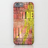 Kill Bill redux iPhone 6 Slim Case