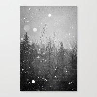 Winter Vail Colorado  Canvas Print