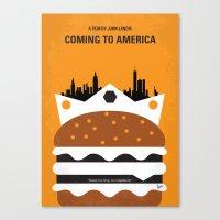 No402 My Coming To Ameri… Canvas Print