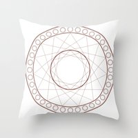 Anime Magic Circle 17 Throw Pillow