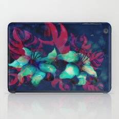 Tropical Flower - Blue Lilly iPad Case