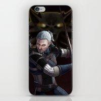 Geralt Of Rivia iPhone & iPod Skin
