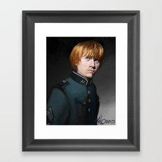 Weasley is our King Framed Art Print