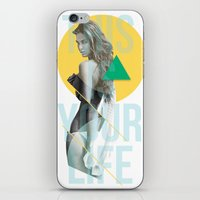 THIS IS YOUR LIFE iPhone & iPod Skin