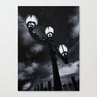Shadows Are Children Of … Canvas Print