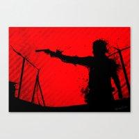 The Walking Dead Rick Canvas Print
