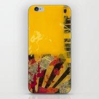 YELLOW 3 iPhone & iPod Skin