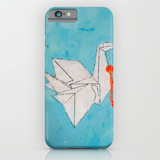 Paper Bird iPhone & iPod Case