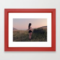 Mystery in the Mountains Framed Art Print